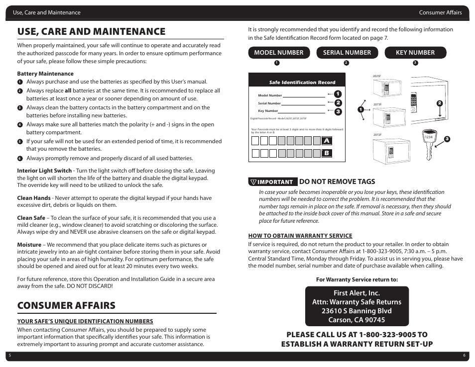 Stalwart Digital Safe Manual Guide