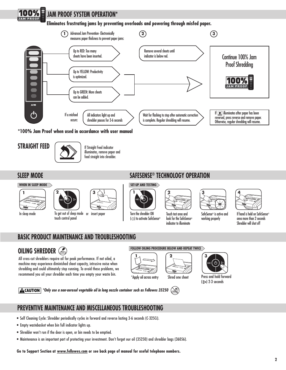 jam proof system operation basic product maintenance and rh manualsdir com fellowes pb2450 user manual fellowes 99ci user manual