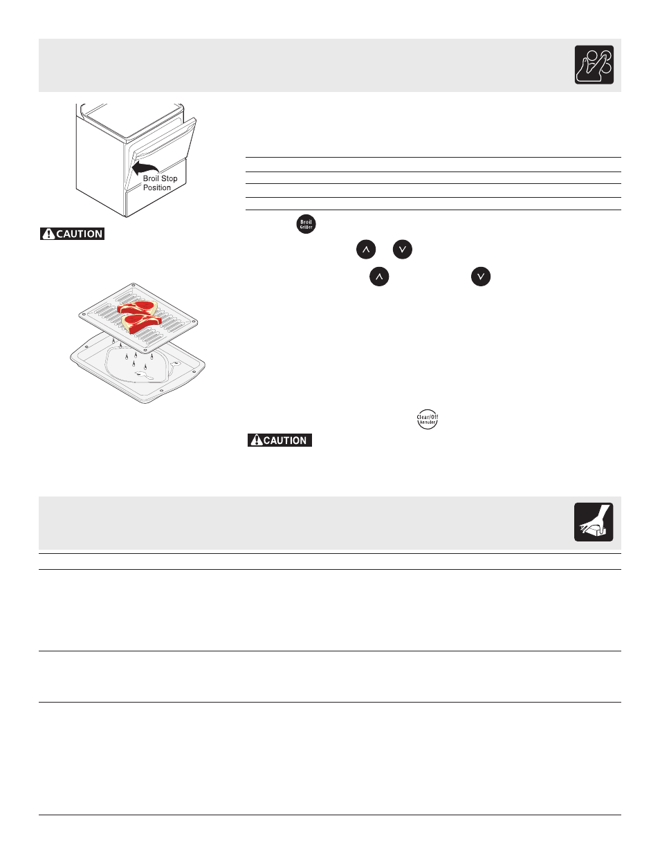 setting oven controls general care cleaning frigidaire es100 rh manualsdir com DGGF3042KF Frigidaire Griddle Frigidaire Jbnd 28