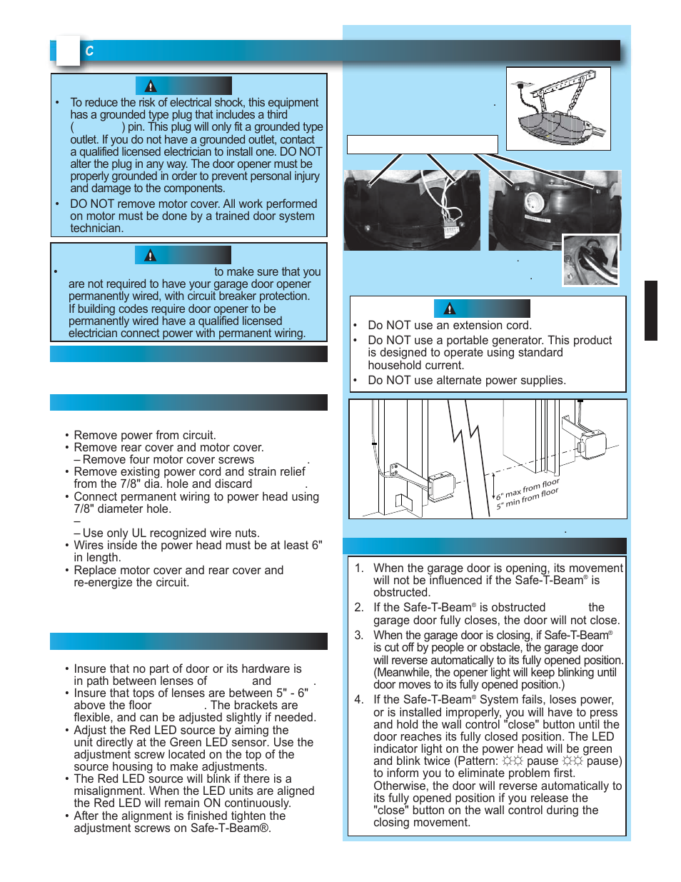 Genie Model 2022 User Manual Page 19 30 Also For