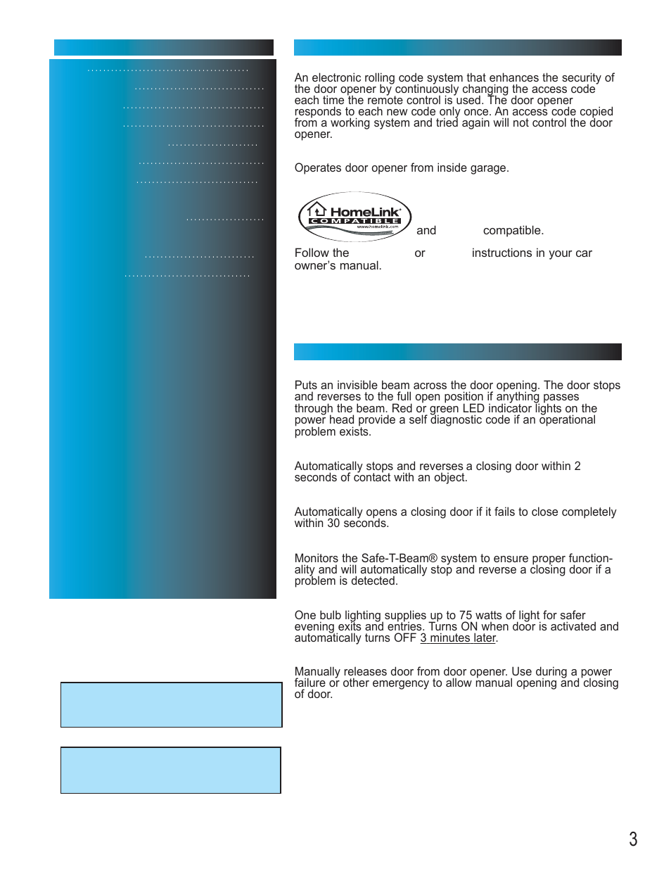 Genie Model 2022 User Manual Page 3 30 Also For