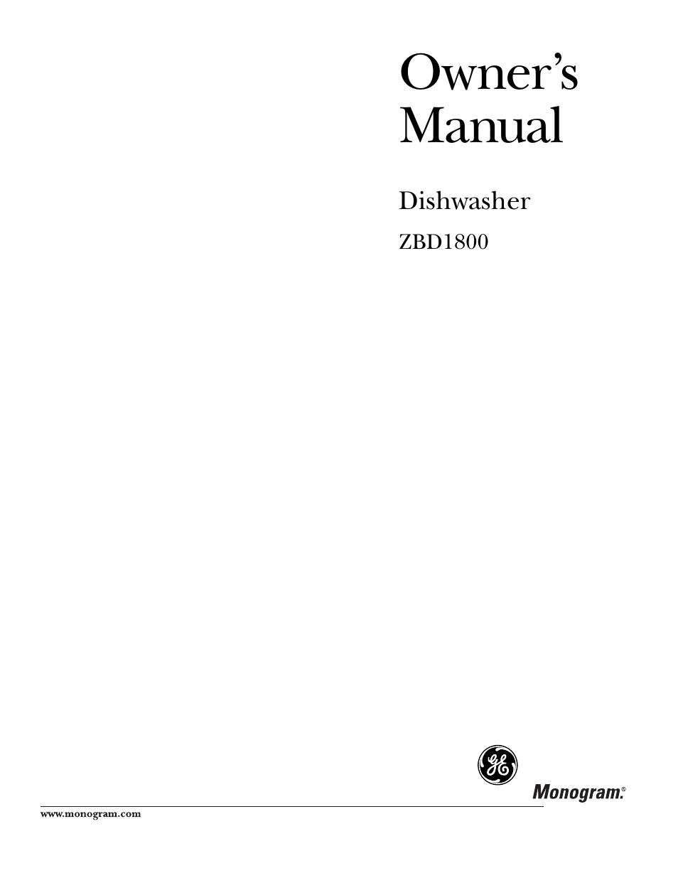 Owners manual for ge dishwasher array ge monogram dishwasher owners manual open source user manual u2022 rh curadata co fandeluxe Image collections