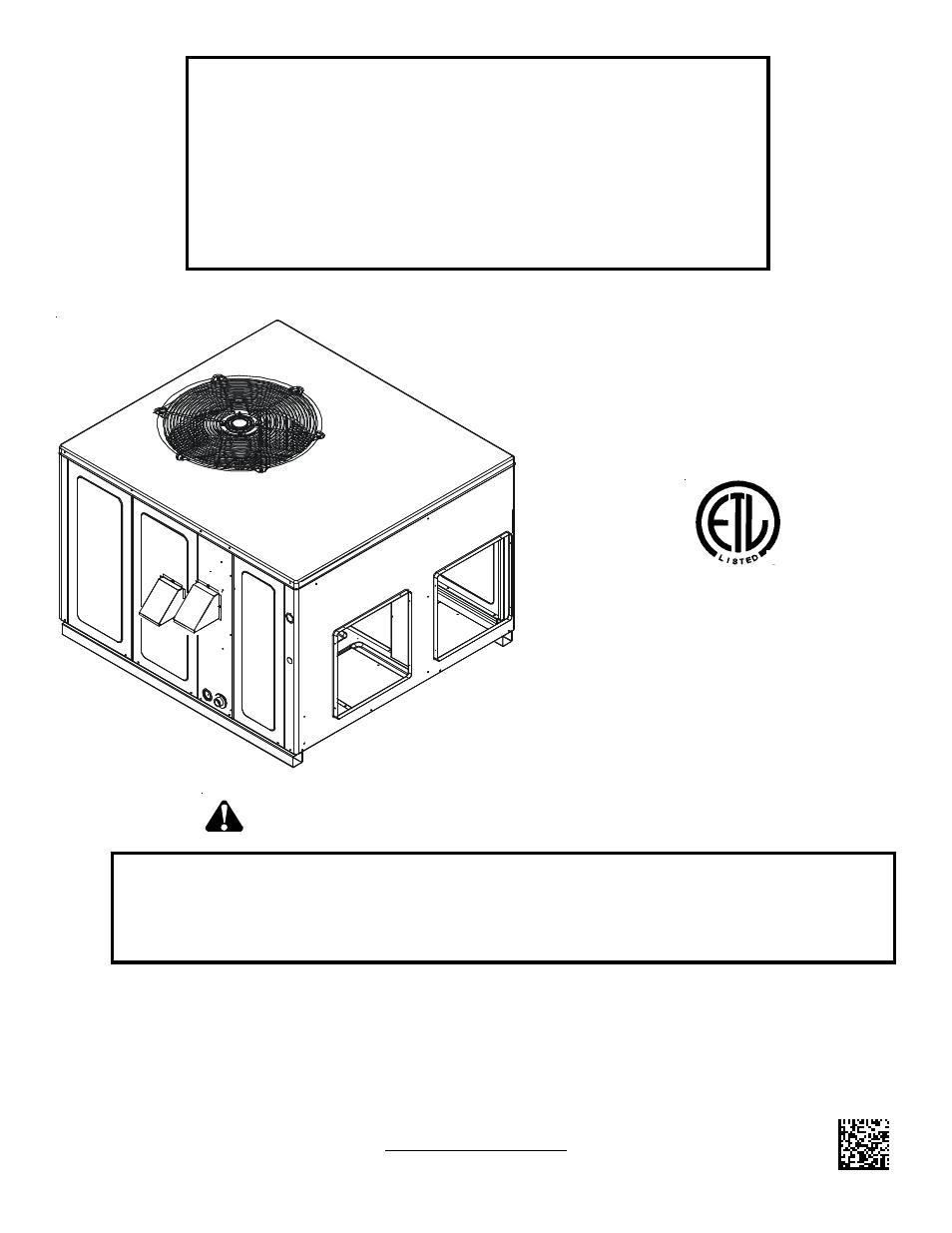 Goodman Mfg A Gpg13 M User Manual Manual Guide