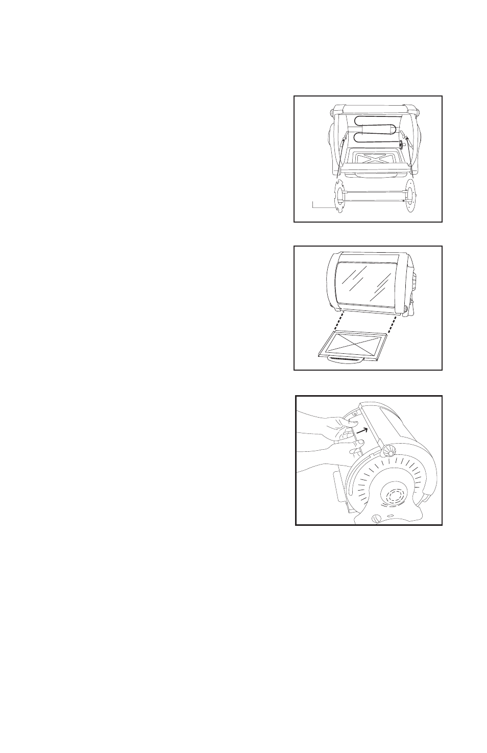 Assemble drip tray, Insert reflector | George Foreman GR82 User Manual |  Page 12 / 32