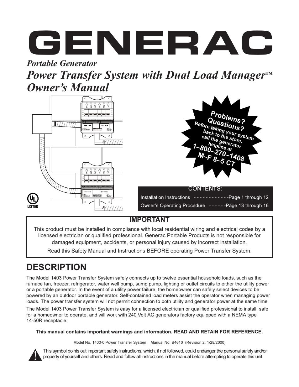 Generac Diagram Wiring 004678 2. . Wiring Diagram For Electrical on