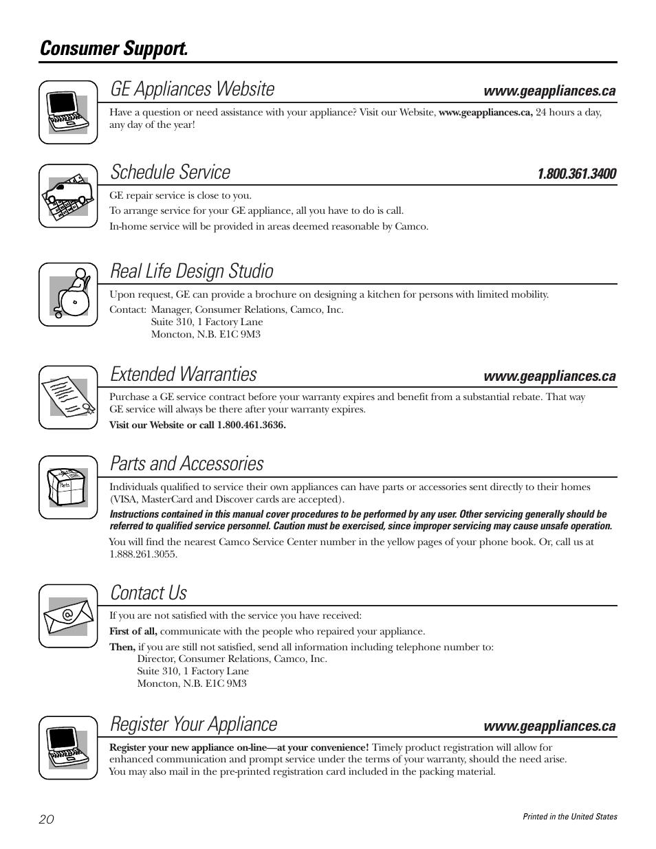 ge appliances website schedule service real life design studio rh manualsdir com Maytag Appliance Manuals KitchenAid Appliance Manuals