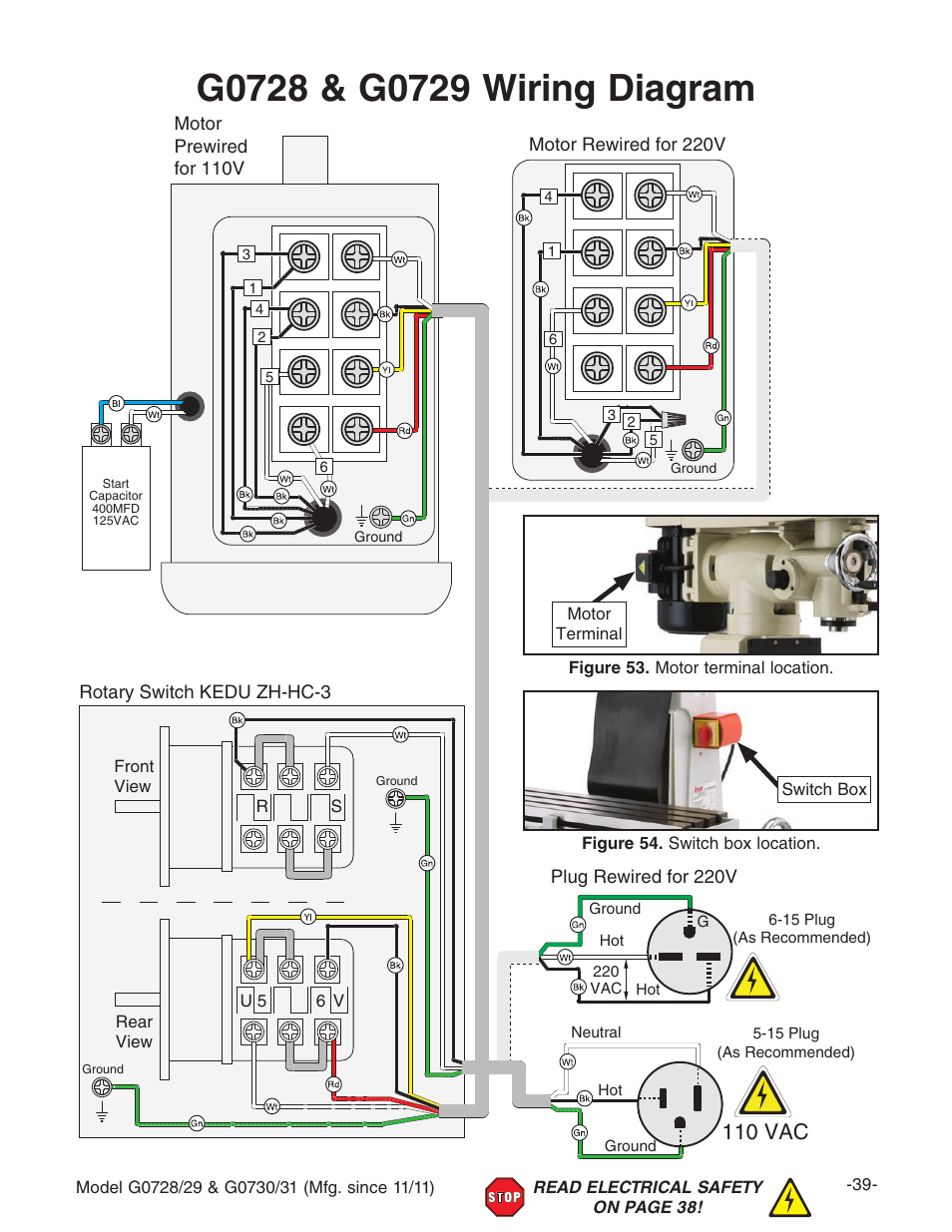Electric Motor Wiring Diagram 110 To 220 from www.manualsdir.com