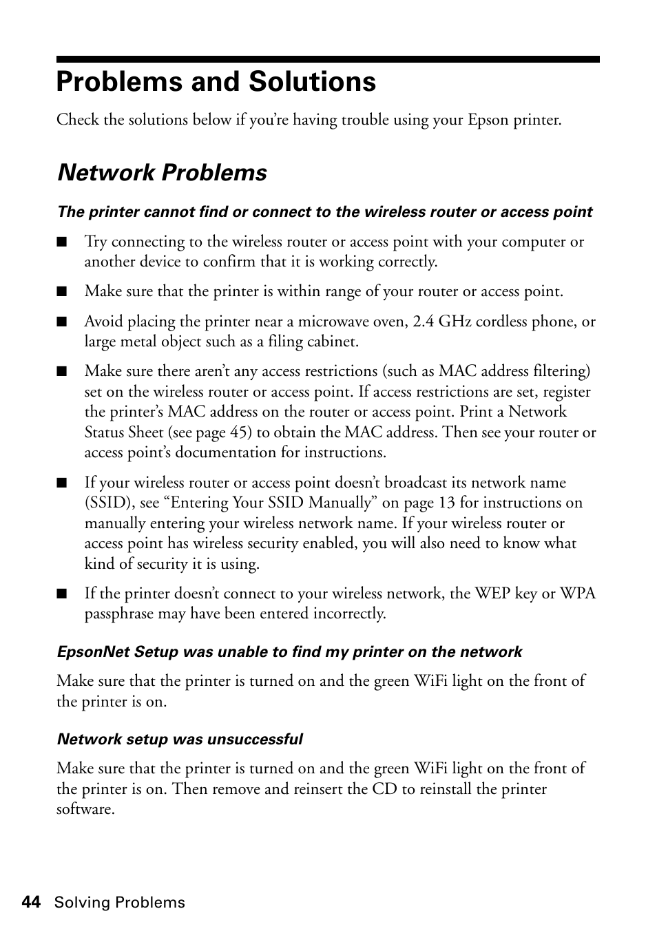 How Do I Connect My Epson Printer To A New Wireless Router