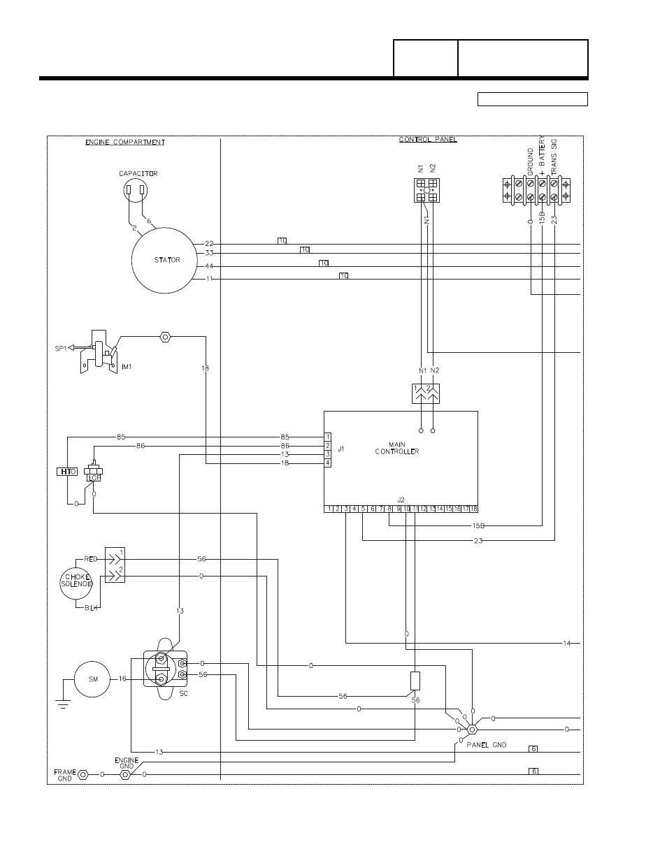 8 Kw Generac Wiring Diagram Anything Diagrams Generator Transfer Switch Home Standby Group G Part 7 Power Rh Manualsdir Com 14kw