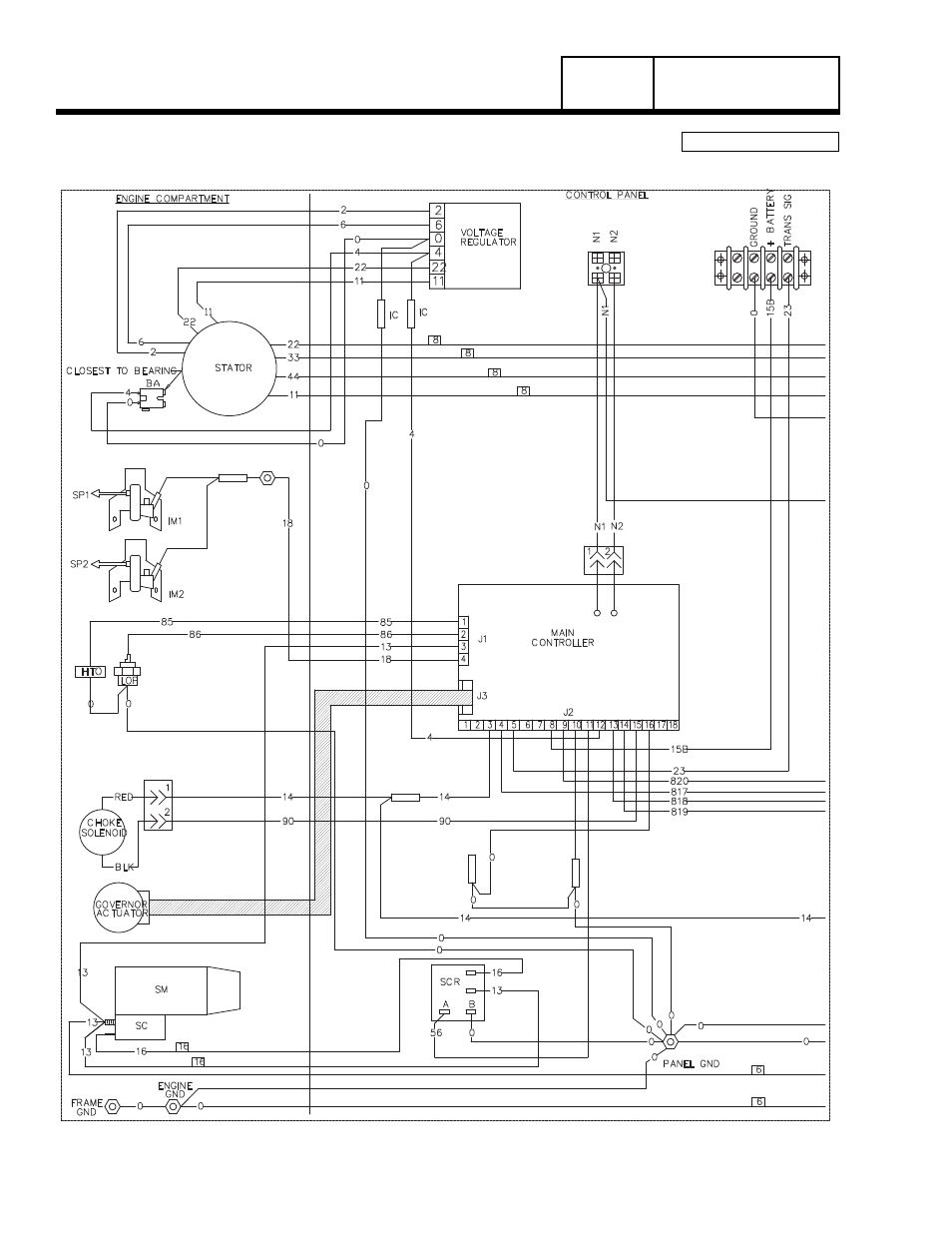 Wiring Diagram 20 Kw Home Standby Group G Part 7 Generac Power Systems 8 Kw Lp User Manual Page 182 192 Original Mode
