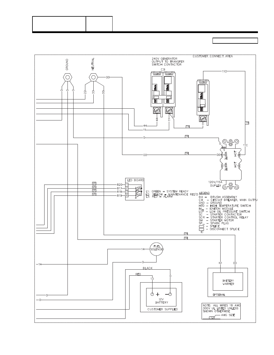 8 Kw Generac Wiring Diagram - Data Wiring Diagram Update