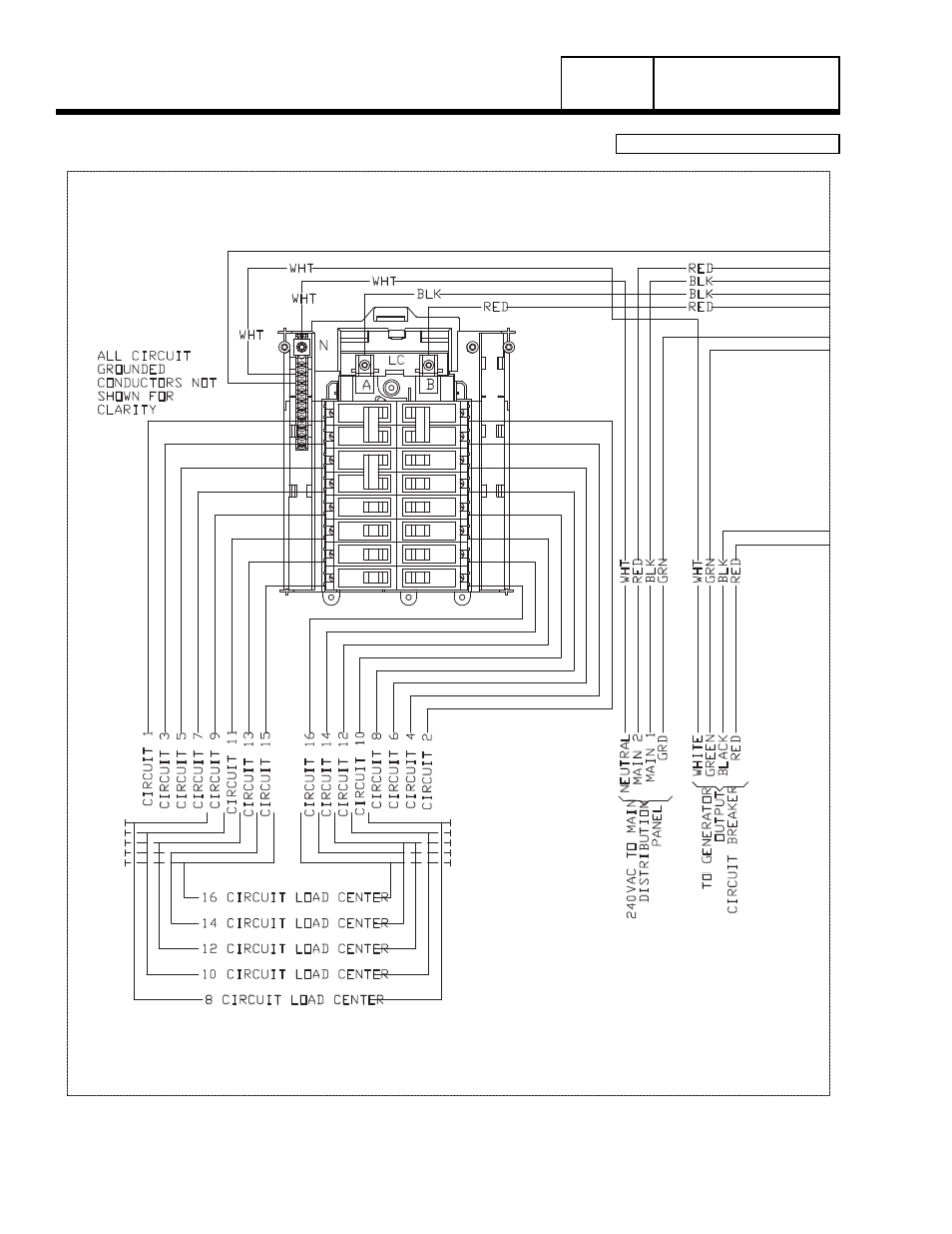 8 Kw Generac Wiring Diagram Internal Diagrams 20kw Schematic Group G Part 7 Home Standby Power Transfer Switch