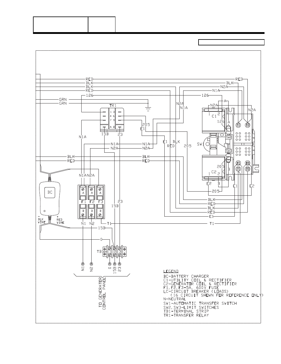 8 Kw Generac Wiring Diagram Wire Data Schema Generator Schematics Group G Home Standby Part 7 Power Rh Manualsdir Com 11kw Schematic Automatic Transfer Switches
