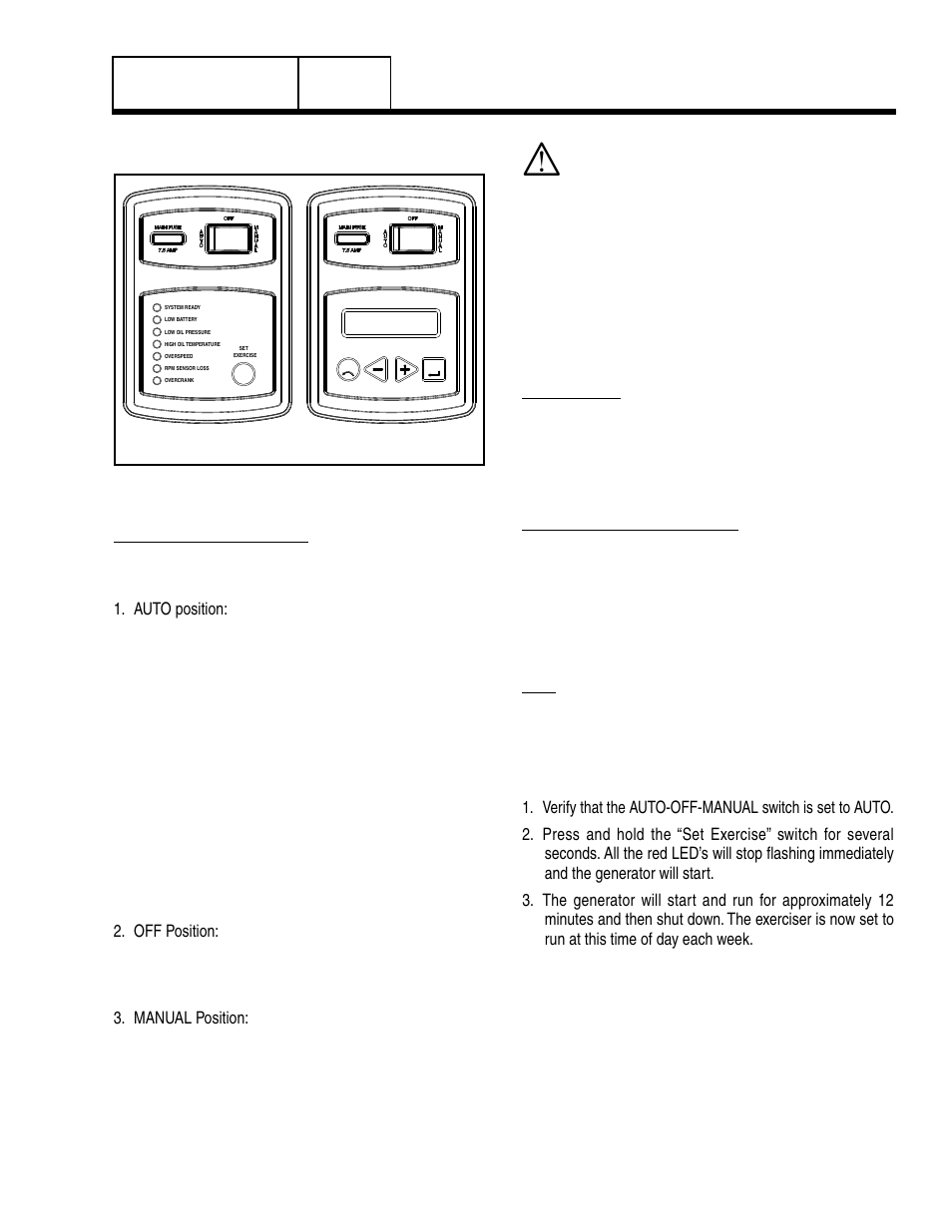 7 operating instructions  control panel  operating