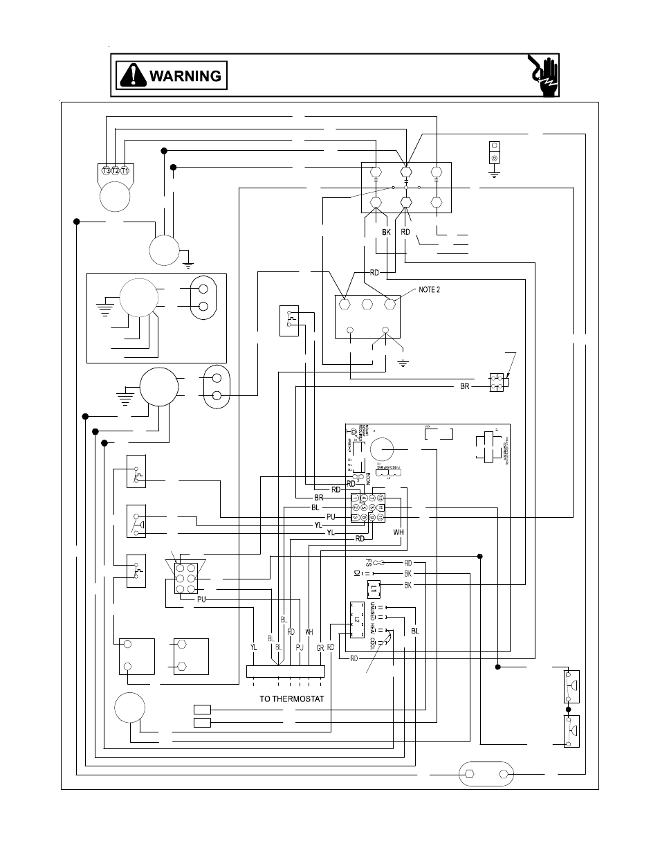 Janitrol Unit Heater Wiring Diagram Diagrams A C Weather King Garage Installation