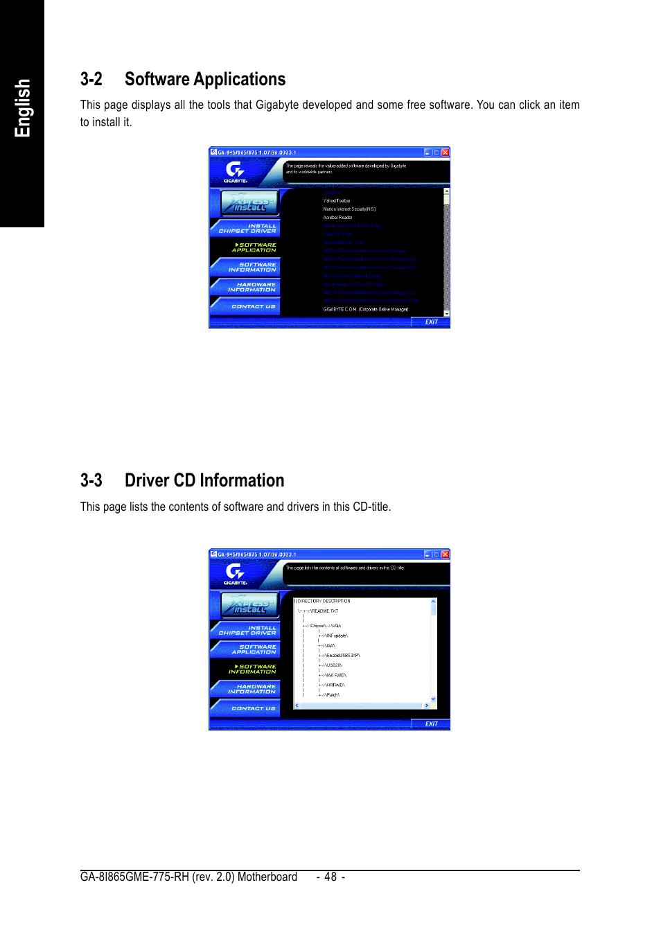 Ga-8i865gme-775-rh bios data error debug code 0d0b 0d01 00c1.