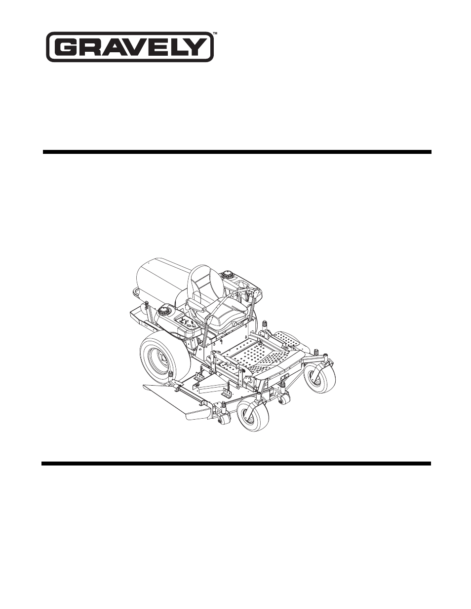 Gravely 260Z User Manual | 44 pages | Also for: Promaster 272Z, Promaster  250Z