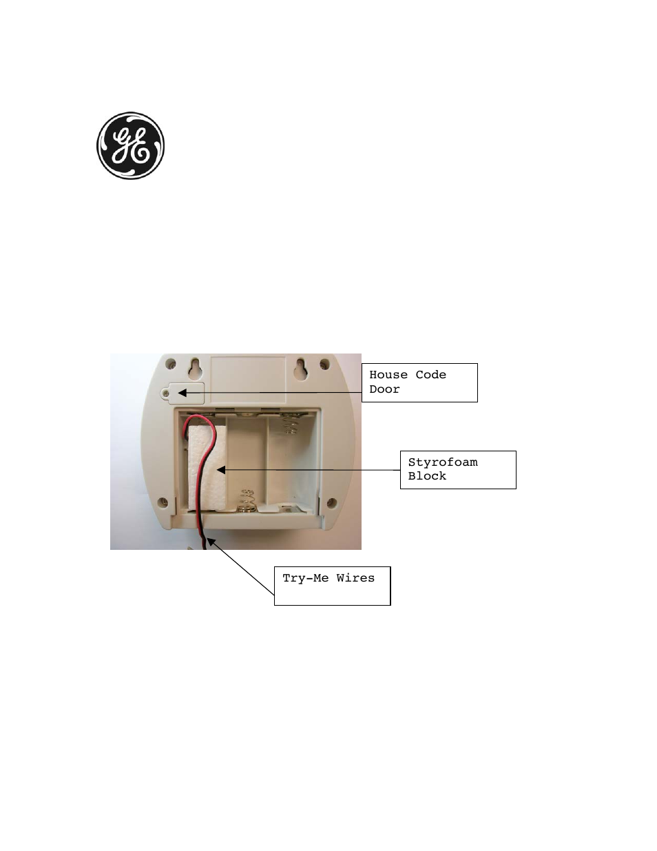 Ge 19208 user manual 9 pages also for 19208 ge for 1 by one door chime