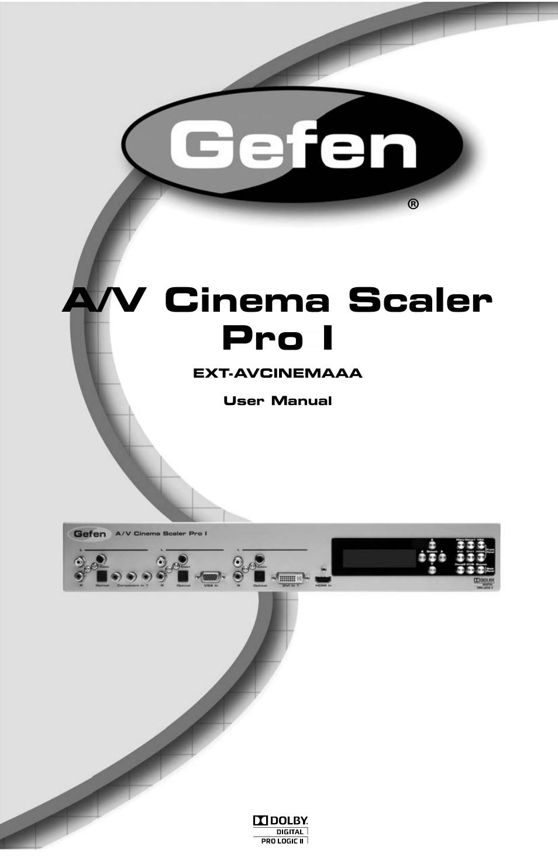 gefen pro i user manual 60 pages rh manualsdir com GefenPRO 10X4 Gefen Chestnuts