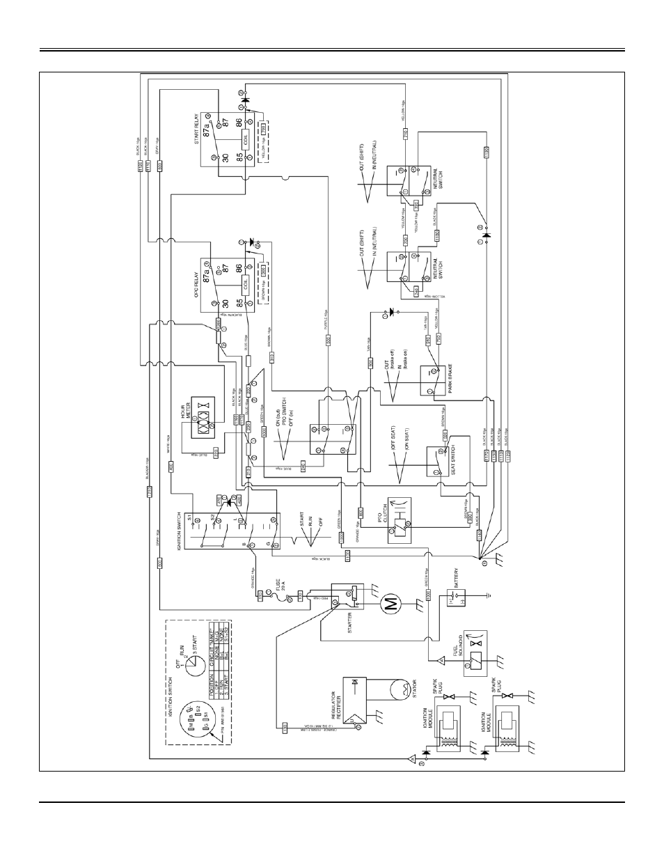 Service electrical | Great Dane Chariot Brutus GBKW2552S User Manual | Page  44 / 86