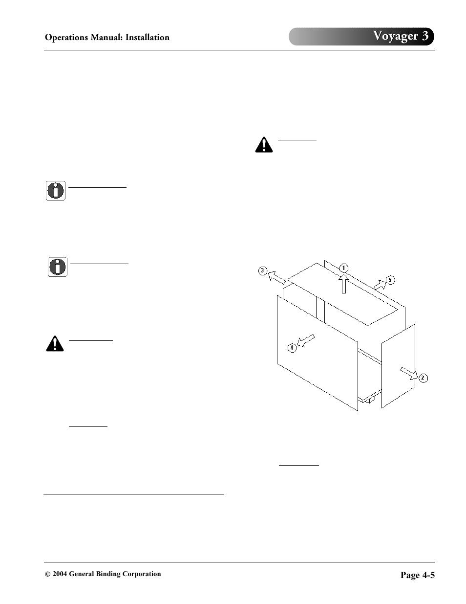 Voyager 3 Parts Manual Gbc Wiring Diagram Array 930 032 User Page 29 34 Rh Manualsdir