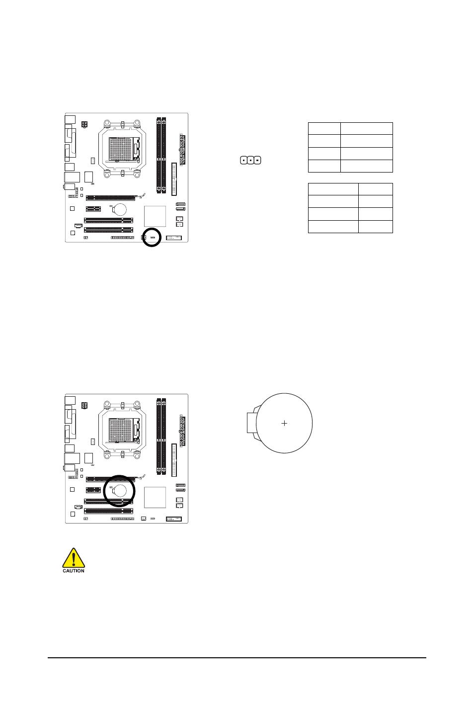 8) pwr_led (system power led header), 9) bat (battery)