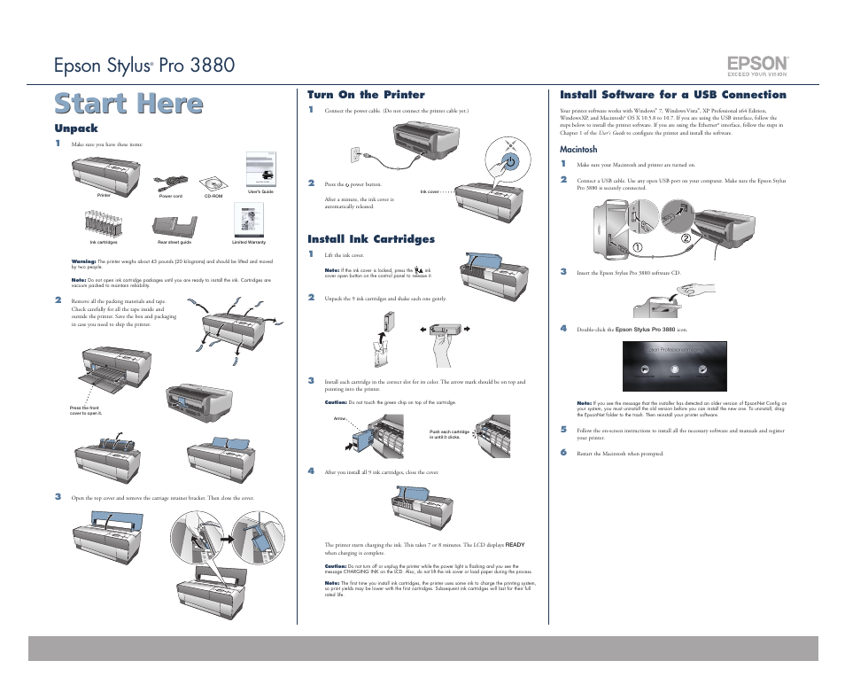 Garmin STYLUS PRO 3880 User Manual   2 pages