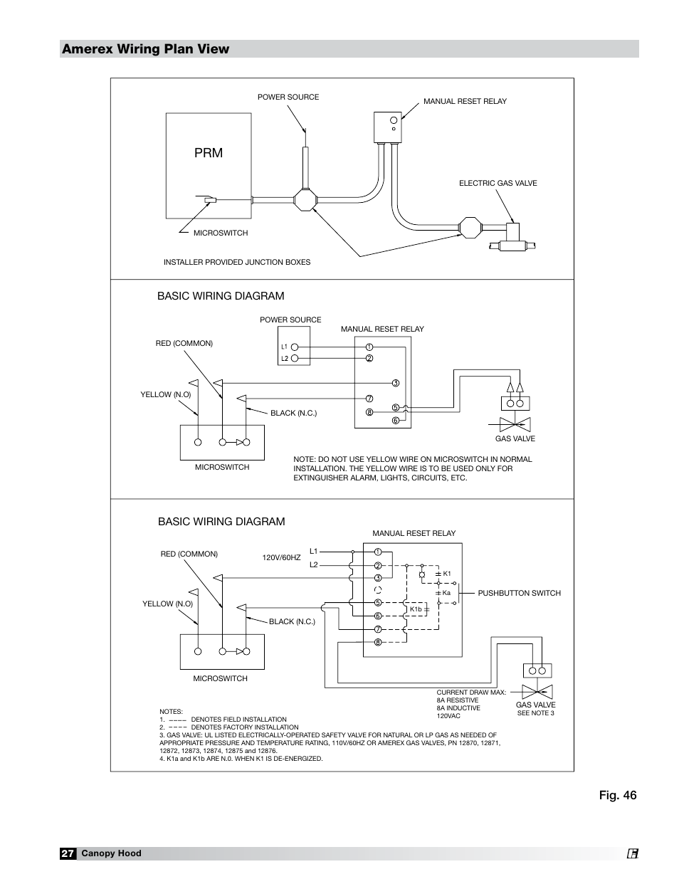 amerex wiring plan view fig 46 basic wiring diagram greenheck amerex wiring plan view fig 46 basic wiring diagram greenheck fan 452413 user manual page 27 40