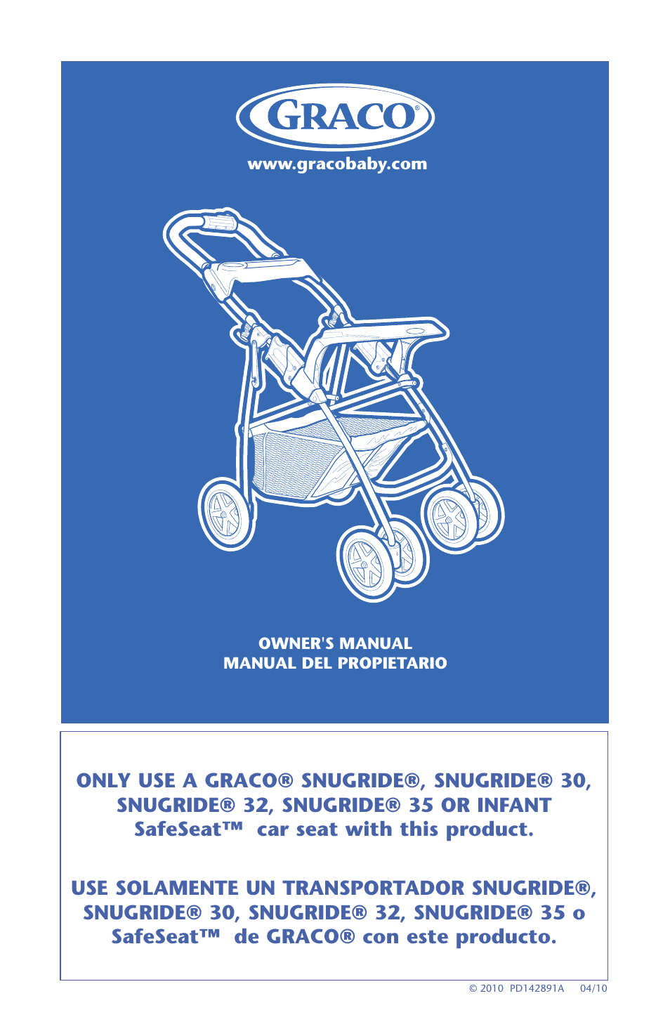 graco 32 user manual 100 pages also for snugride 1774385 rh manualsdir com graco snugride 32 manual Graco SnugRide Stroller