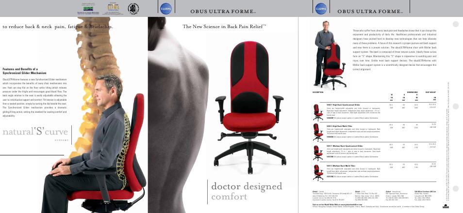 Natural S Curve Doctor Designed Comfort Obus Ultra