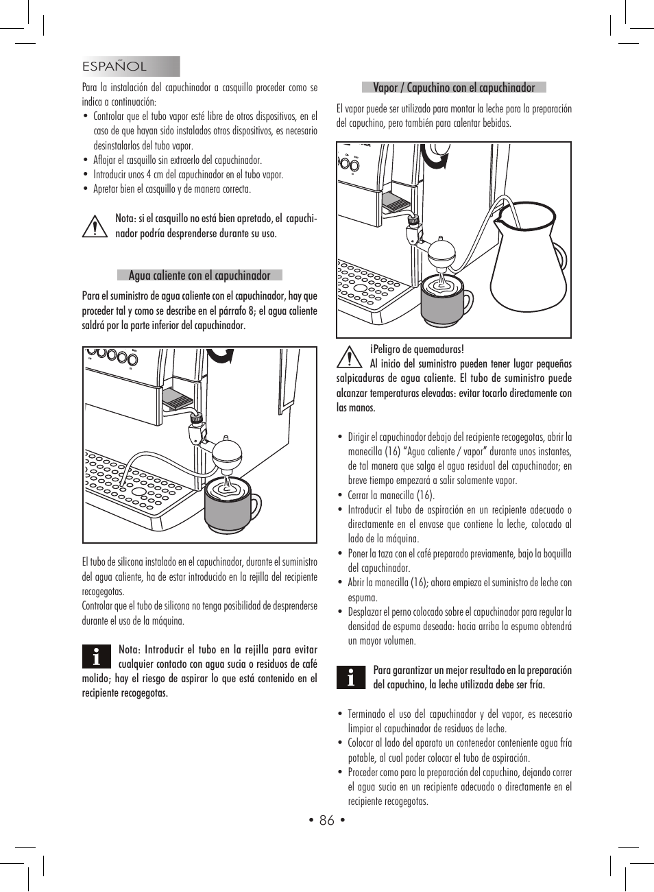gaggia titanium user manual page 86 132 original mode rh manualsdir com gaggia titanium manuale italiano gaggia titanium manual ventilate