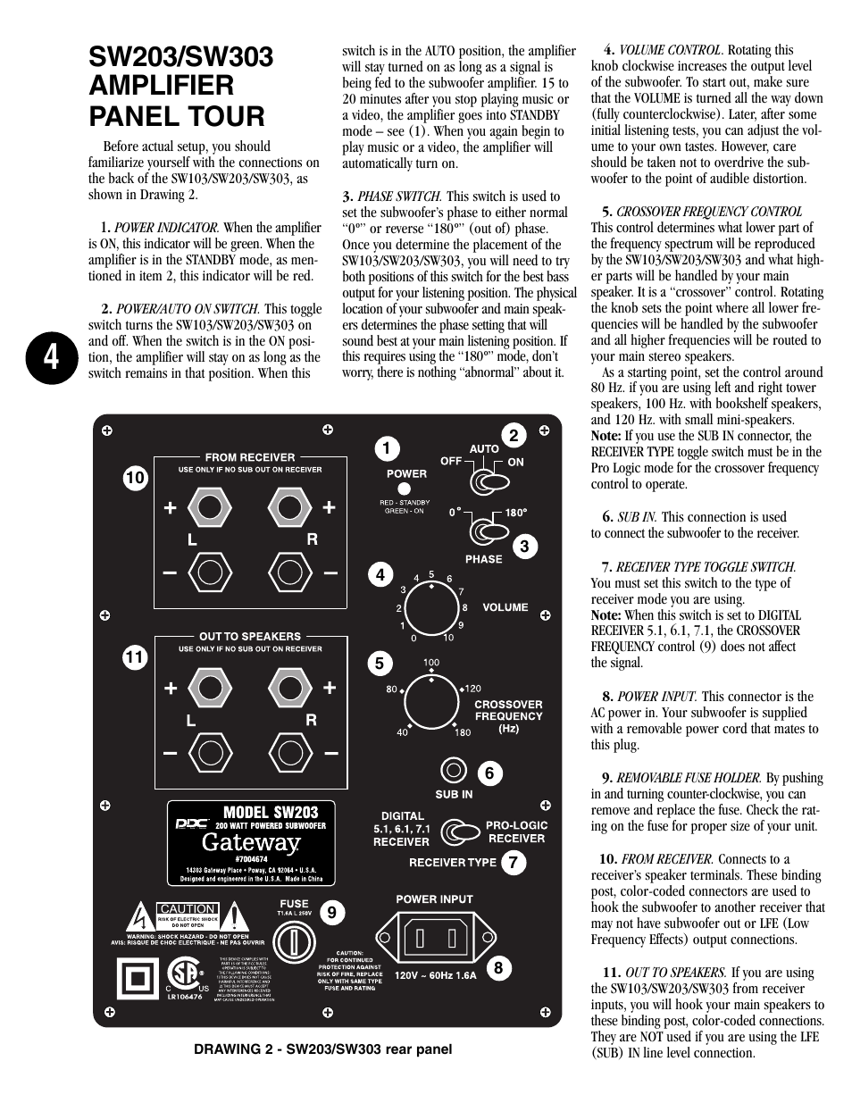 Gateway SW203 User Manual   Page 4 / 8   Also for: SW303, SW103