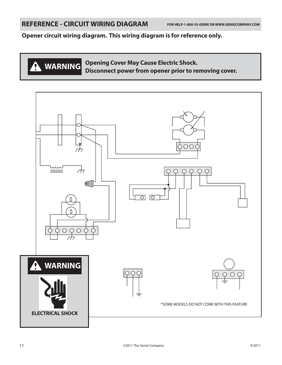 Warning Reference Circuit Wiring Diagram Power Cord