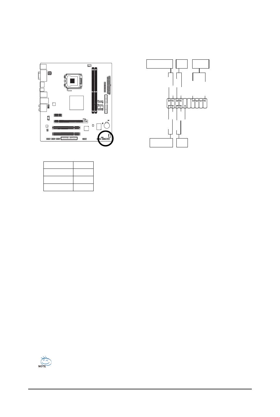 10) f_panel (front panel header) | GIGABYTE LGA775 Socket Motherboard for  Intel GA-73PVM-S2H User Manual | Page 28 / 100