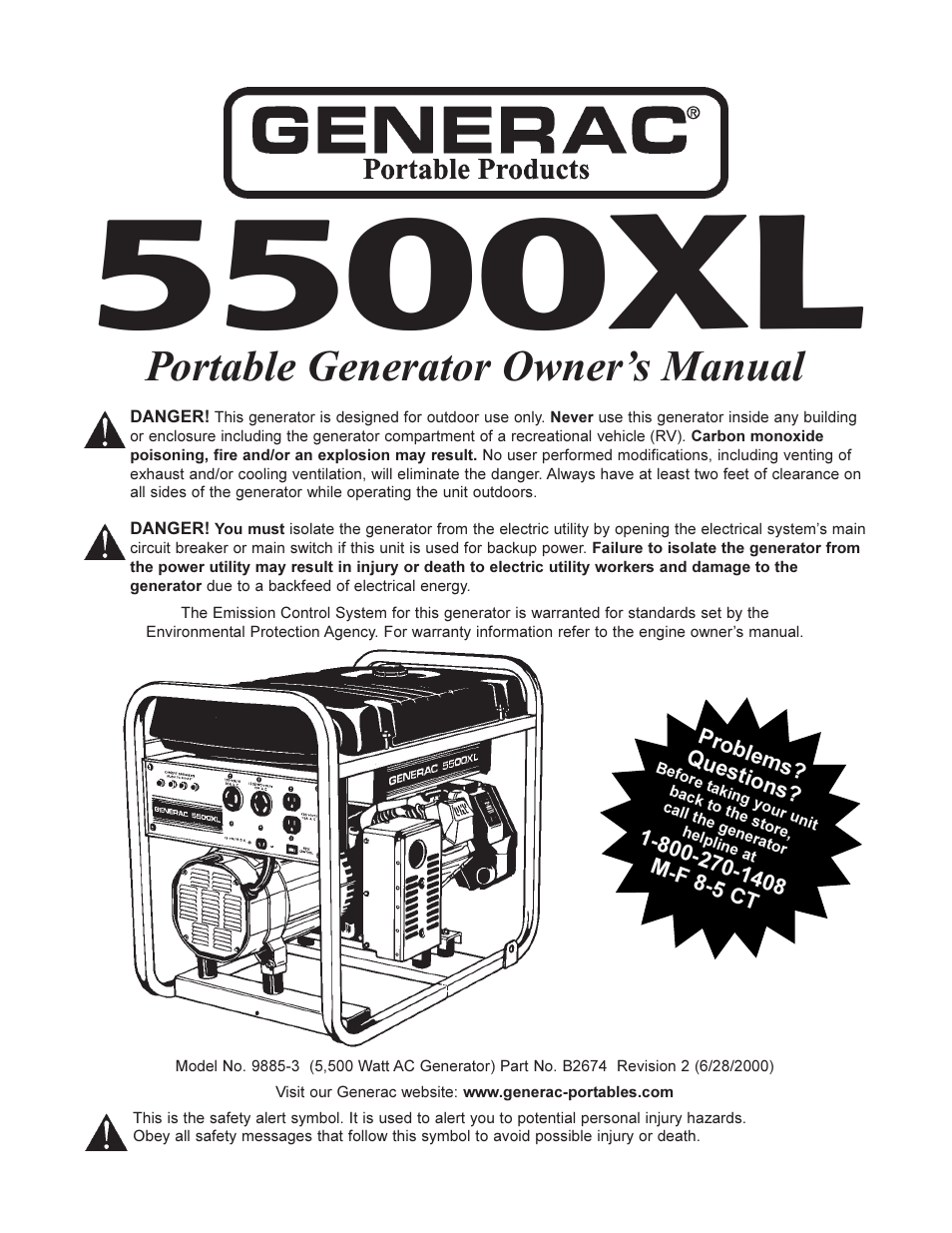 Scintillating Generac Portable Generator Parts Diagram Gallery ...