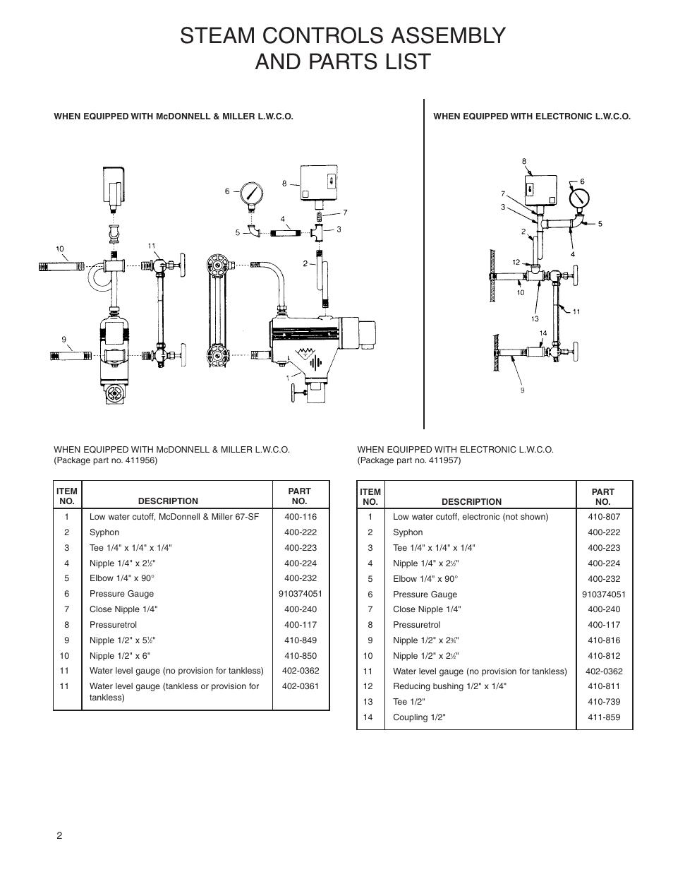 steam controls assembly and parts list slant fin galaxy metal gear rh manualsdir com Manual Car Car Gear Shift
