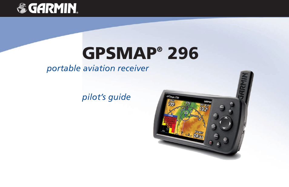 Garmin gpsmap 296 user manual 168 pages fandeluxe Gallery