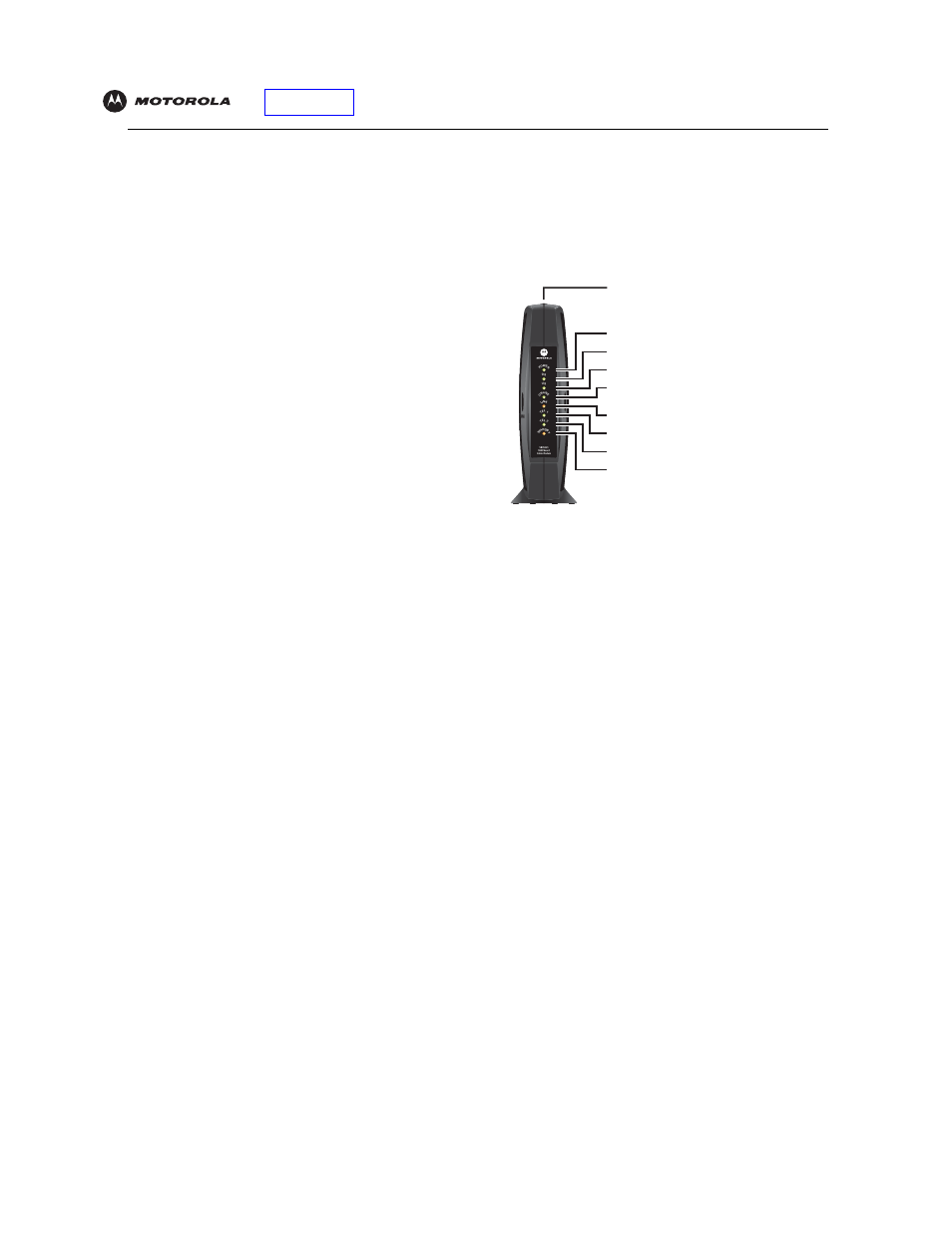 Cable modem motorola sbv5121 user guide   electrical connector.