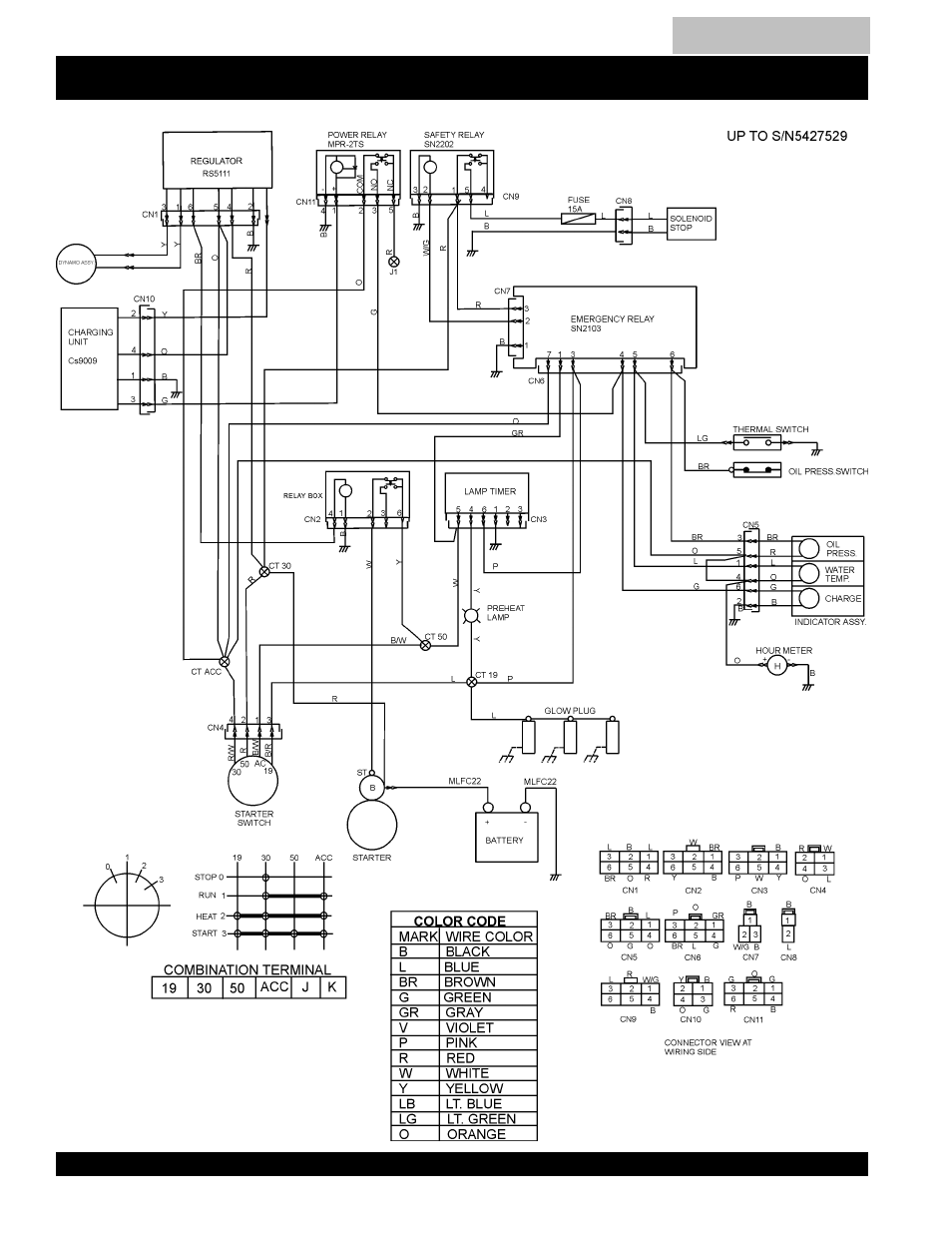 Engine wiring diagrams -41, Blw-400ssw —engine wiring diagram | Multiquip  MQ Power Duelweld Welder/Ac Generator BLW-400SSW User Manual | Page 40 /  138 | Original modeManualsDir.com