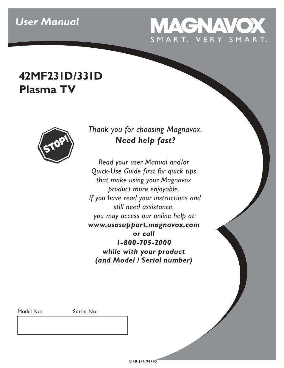 philips magnavox 42mf231d 331d user manual 39 pages rh manualsdir com TV Blu-ray Combo 1080P Blue Ray Combo TV