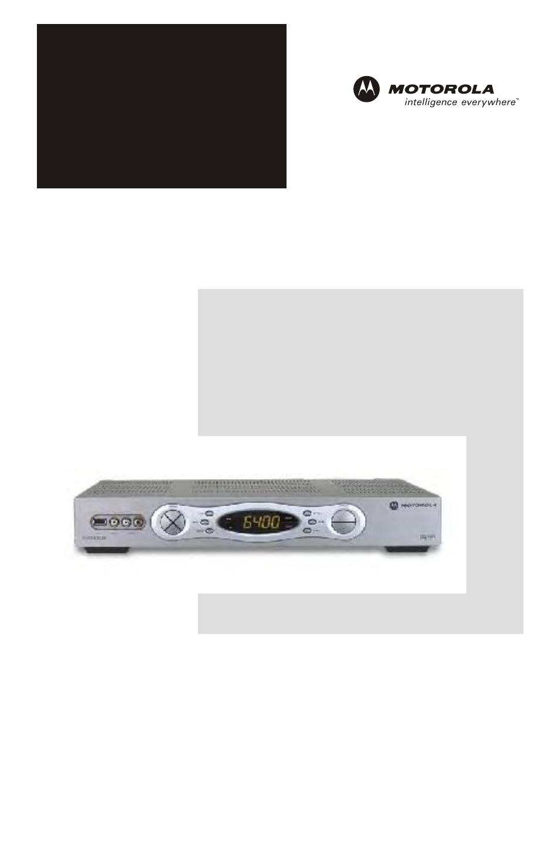 motorola qip6200 qip64xx user manual 50 pages rh manualsdir com Motorola DVR Expander Motorola DVR Hacks