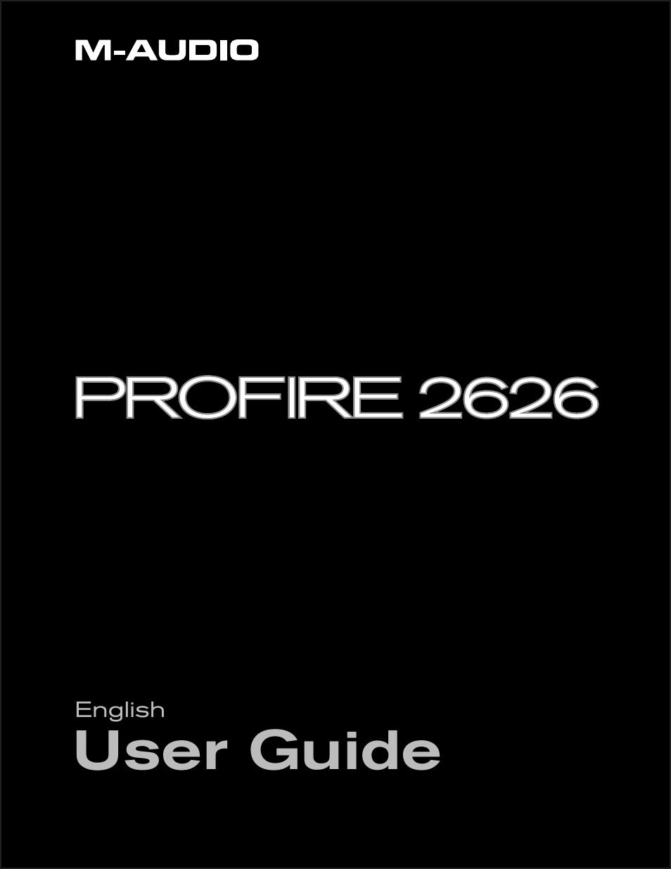 m audio profire 2626 user manual 51 pages. Black Bedroom Furniture Sets. Home Design Ideas