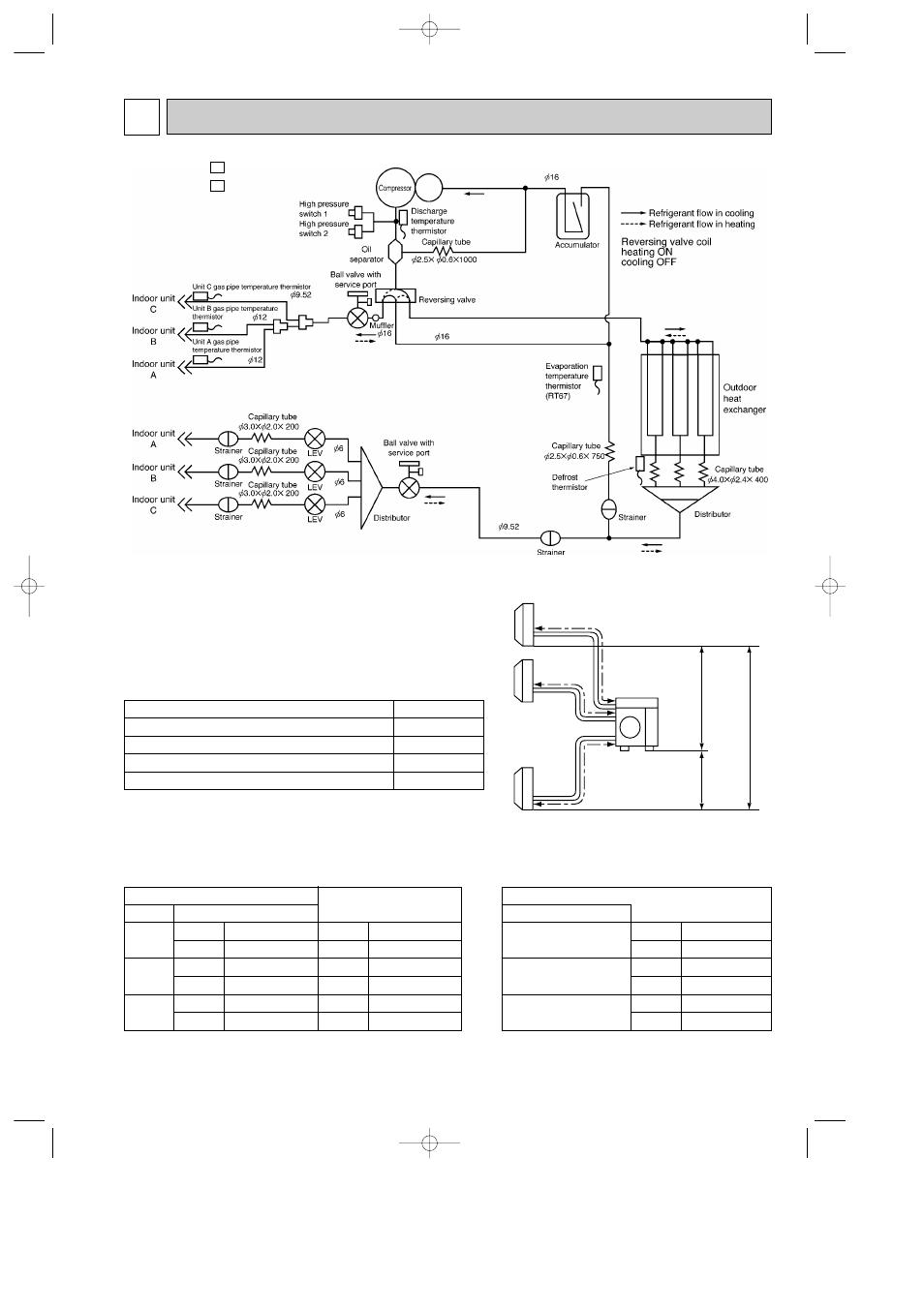 Refrigerant system diagram 9, Mxz-24uv - mxz-24uv | MITSUBISHI ELECTRIC MXZ