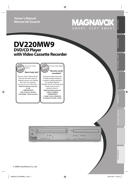 philips magnavox dv220mw9 user manual 28 pages magnavox mwr20v6 dvd recorder vcr combo manual Magnavox DVD VCR DV220MW9 Manual