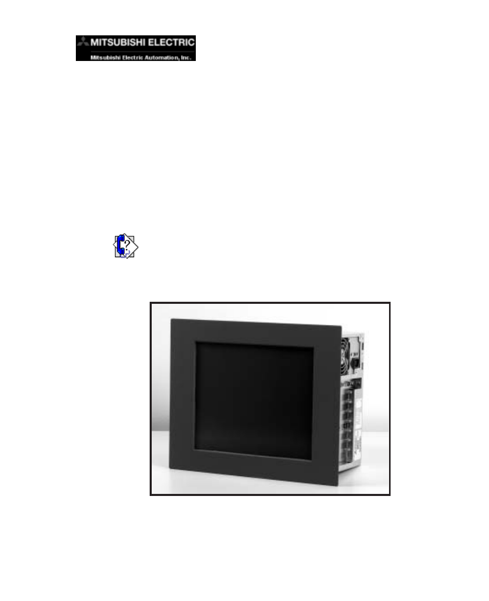 MITSUBISHI ELECTRIC MC Workstation Computer User Manual Page - Mitsubishi technical support