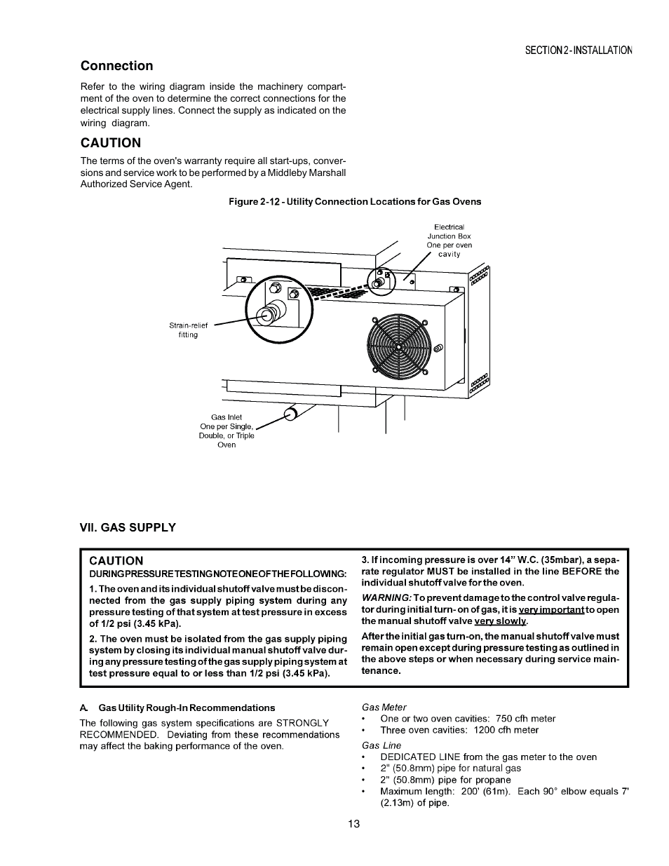 Middleby Marshall Ps770g Gas User Manual Page 13 24 Ups Connection Wiring Diagram