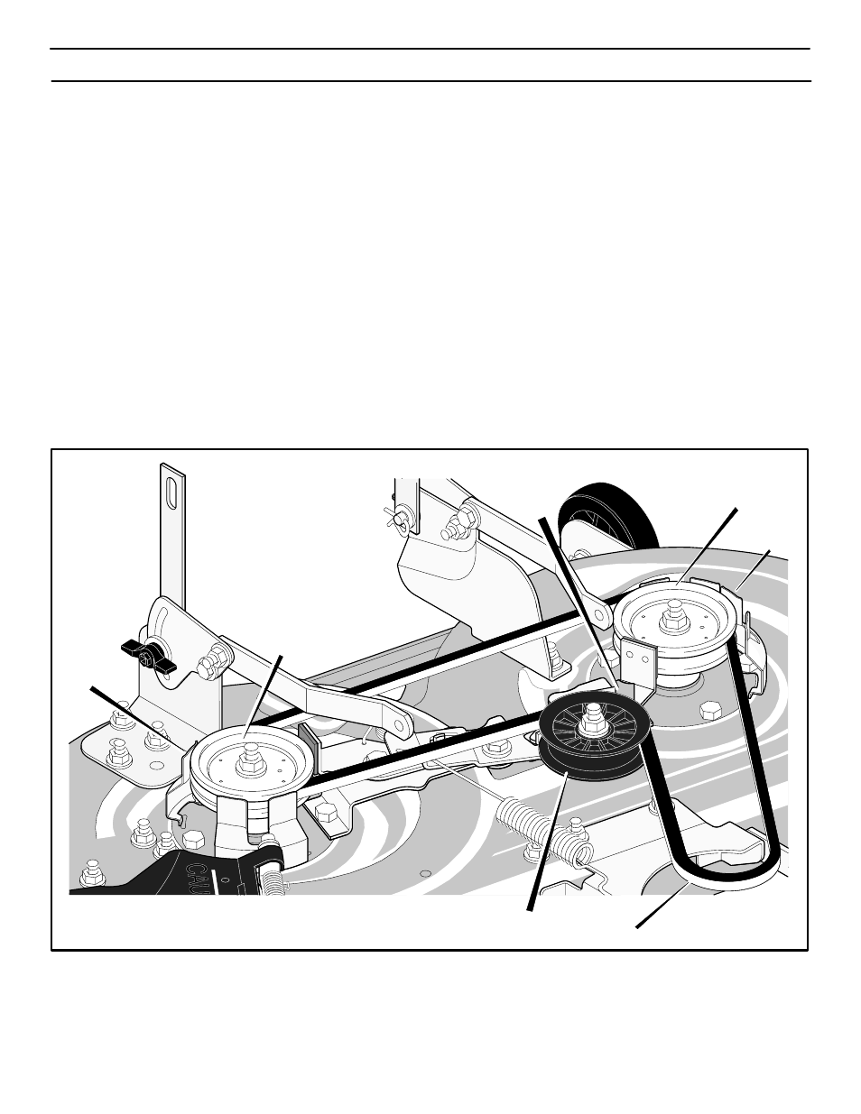 Maintenance, How to replace the mower drive belt | Murray 425303x92B User  Manual | Page