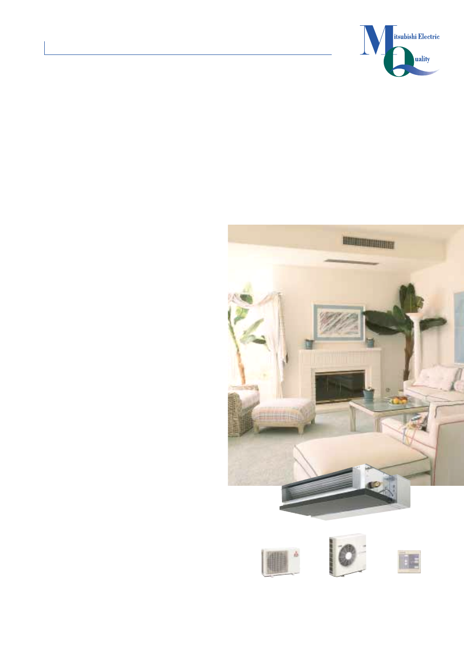 Seh series ceiling-concealed, The perfect single or multi room system for you | MITSUBISHI ...