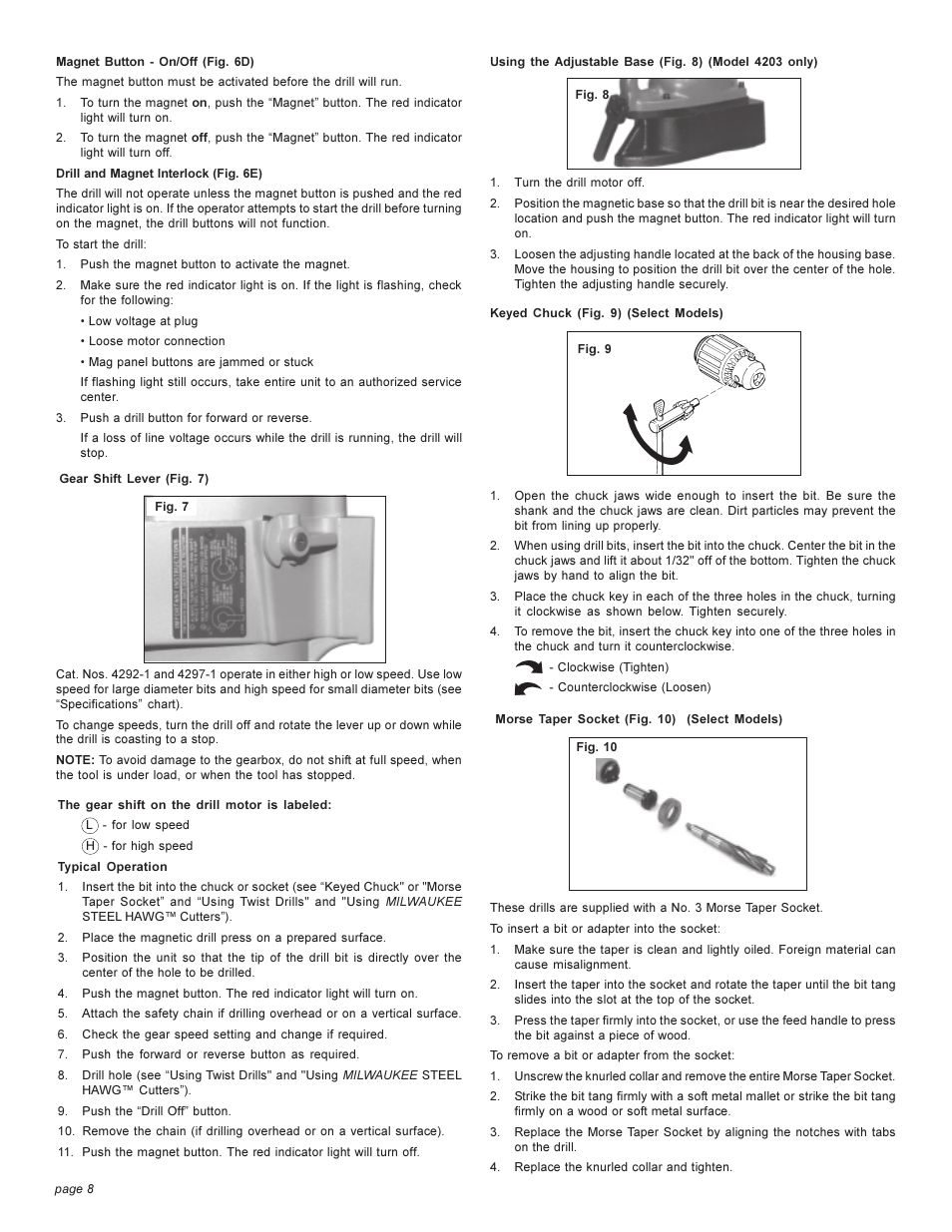 milwaukee 4262 1 page8 milwaukee 4262 1 user manual page 8 32  at bakdesigns.co