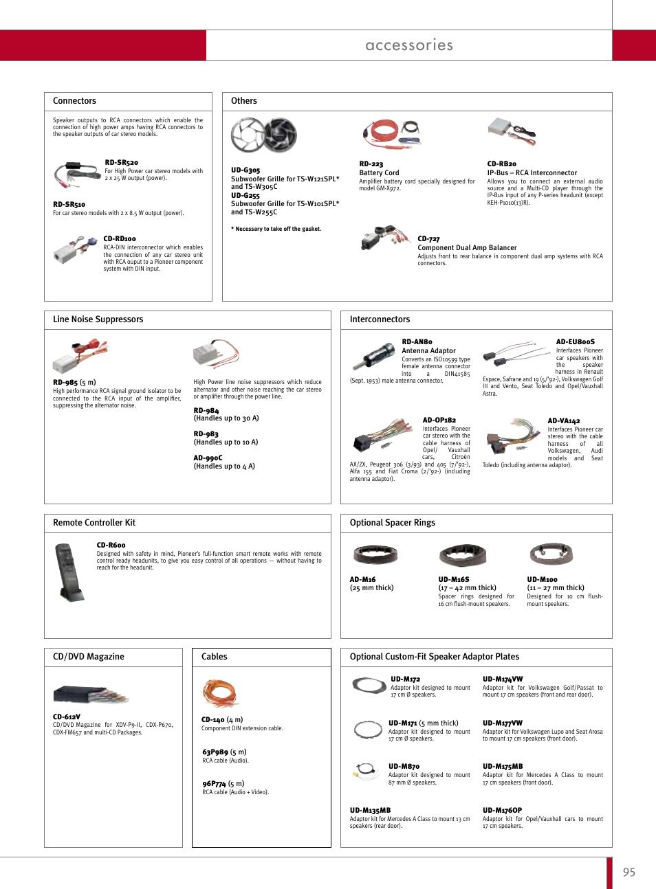 accessories pioneer reference series dex p9r user manual page 45 rh manualsdir com